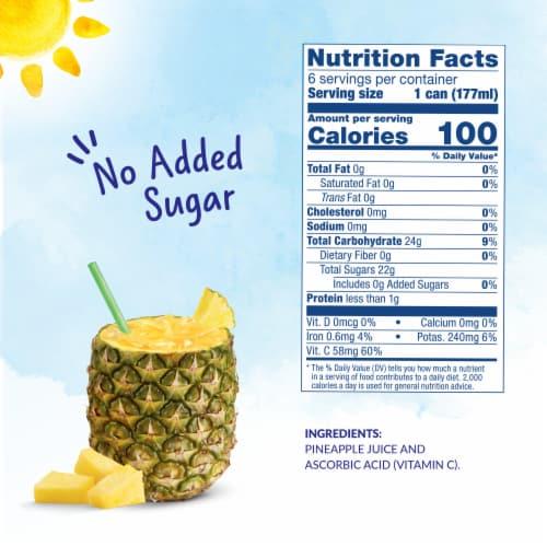 Dole 100% Pineapple Juice Perspective: left