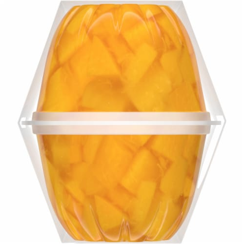 Dole Diced Peaches in Sweetened Coconut Water Perspective: left