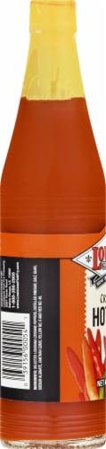 Louisiana Original Hot Sauce Perspective: left