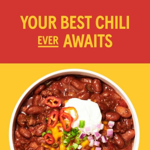 Bush's Best Mild Chili Sauce Kidney Beans Perspective: left