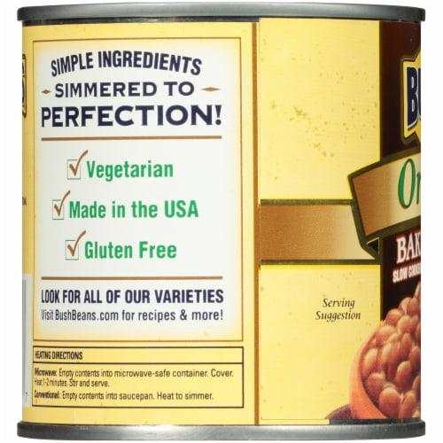 Bush's Best Organic Baked Beans Perspective: left