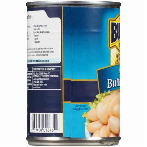 Bush's Best Large Butter Beans Perspective: left