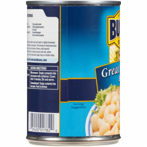 Bush's Best Great Northern Beans Perspective: left