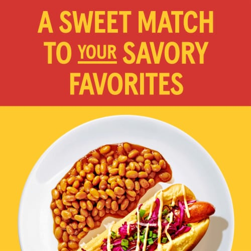 Bush's Best Brown Sugar Hickory Baked Beans Perspective: left