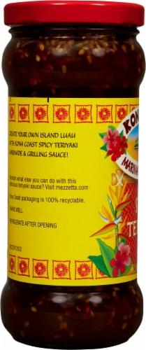 Kona Coast Spicy Teriyaki Marinade & Grilling Sauce Perspective: left