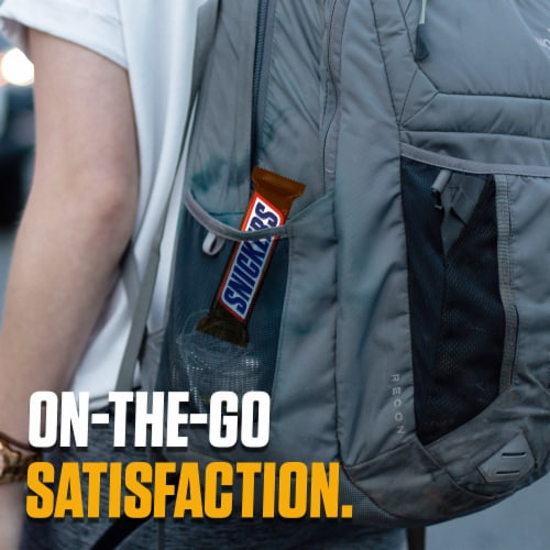 Snickers® Full Size Chocolate Candy Bars Perspective: left