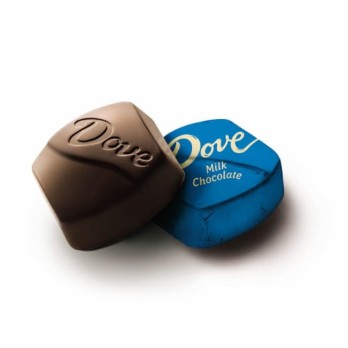 DOVE PROMISES Milk Chocolate Candy Bag Perspective: left