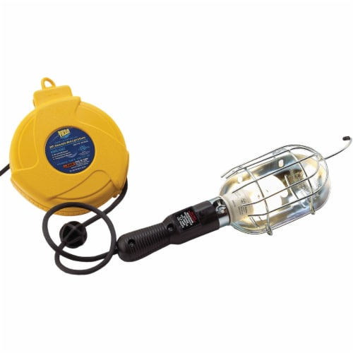 Alert Stamping 75W Incandescent Trouble Light with 20 Ft. Power Cord 920DT Perspective: left