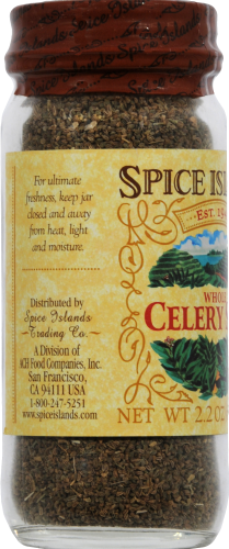 Spice Islands Whole Celery Seed Perspective: left