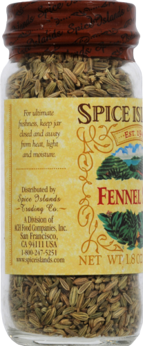 Spice Islands Fennel Seed Perspective: left