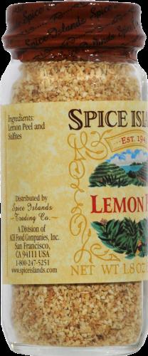 Spice Islands Lemon Peel Perspective: left