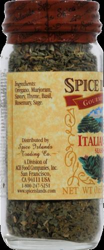 Spice Islands Italian Herb Seasoning Jar Perspective: left