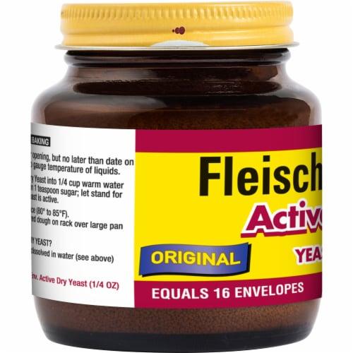 Fleischmann's Active Dry Yeast Perspective: left