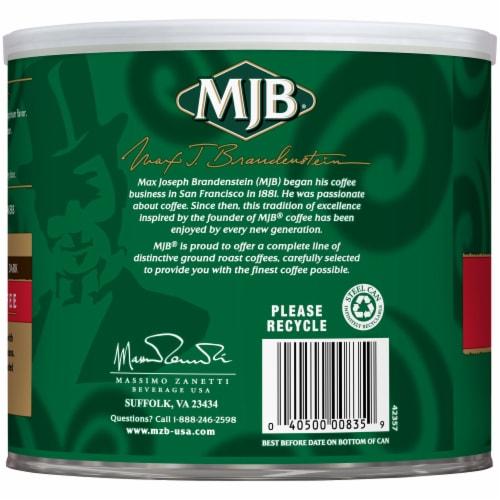 MJB Premium Ground Coffee Perspective: left
