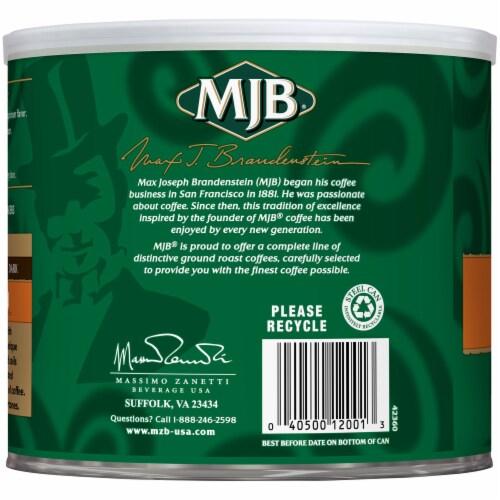 MJB Hawaiian Blend Ground Coffee Perspective: left