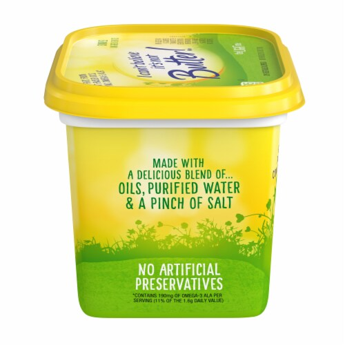 I Can't Believe It's Not Butter! The Light One Vegetable Oil Spread Perspective: left