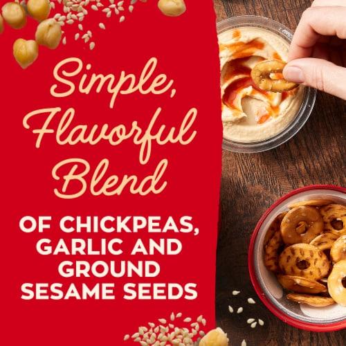 Sabra Snackers Classic Hummus & Pretzels Perspective: left