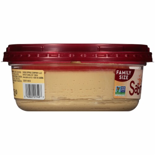 Sabra Classic Hummus Family Size Perspective: left