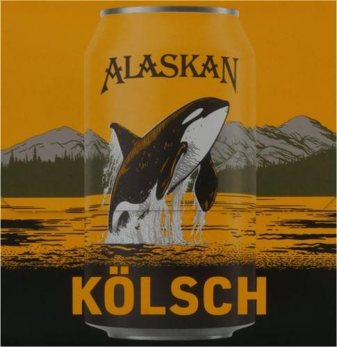 Alaskan Brewing Co. Kolsch Style Ale Perspective: left