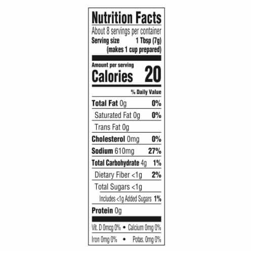 Lipton Recipe Secrets Onion Soup & Dip Mix Perspective: left