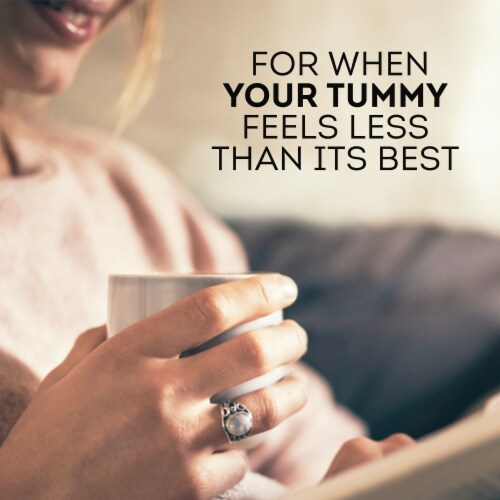 Lipton Soothe Your Tummy Caffeine Free Herbal Supplement Tea Bags Perspective: left