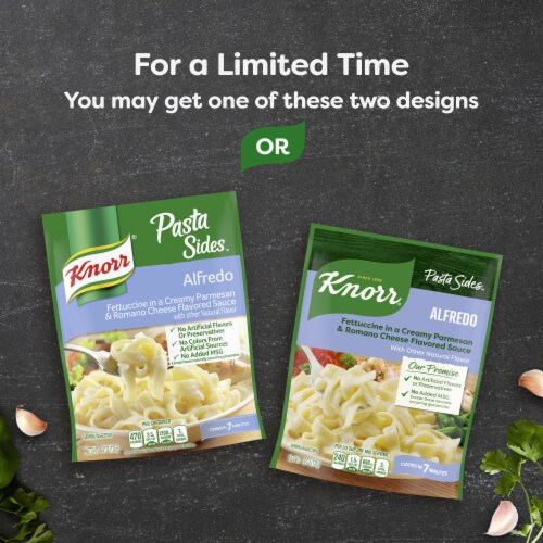 Knorr Pasta Sides Alfredo Fettuccini Perspective: left