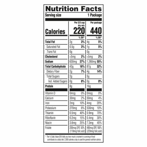 Knorr Pasta Sides Creamy Chicken Fettuccine Perspective: left