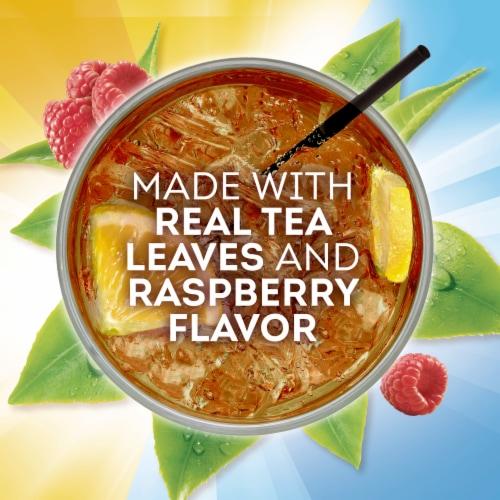Lipton Raspberry Diet Iced Tea Mix Perspective: left