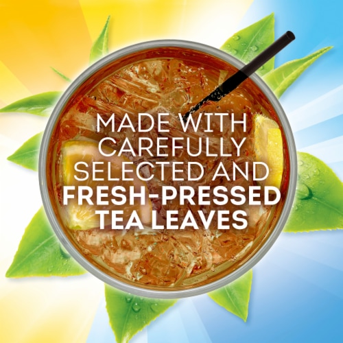 Lipton Unsweetened Iced Tea K-Cup Pods Perspective: left