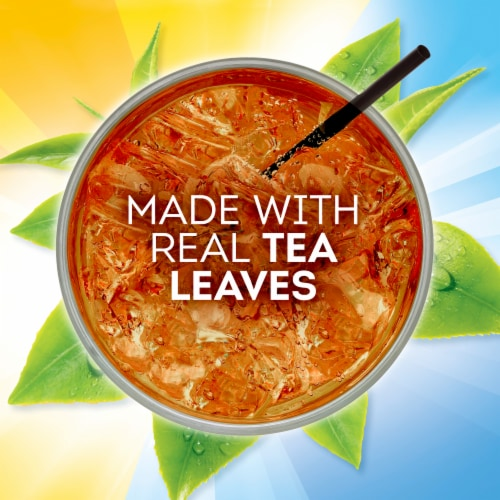 Lipton Southern Sweet Family-Sized Iced Tea Bags Perspective: left