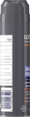 Lotrimin® Daily Prevention Deodorant Powder Spray Perspective: left