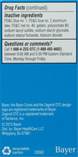 Zegerid OTC® Acid Reducer Capsules Perspective: left