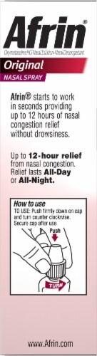 Afrin® Original Nasal Spray Perspective: left