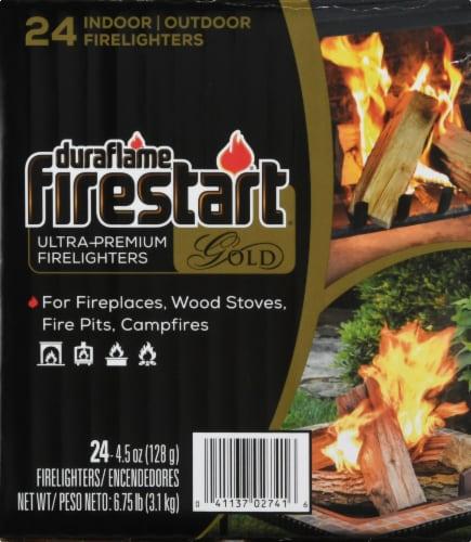 Duraflame Firestart Gold Ultra-Premium Firelighters 24 / 4.5 oz Perspective: left