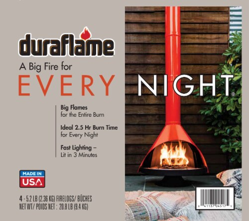 Duraflame® Every Night Fire Logs Perspective: left