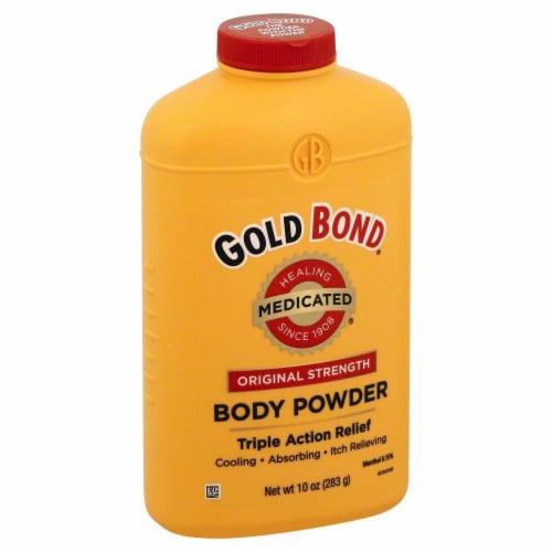 Gold Bond Medicated Original Strength Body Powder Perspective: left