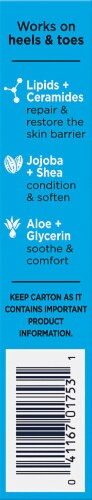 Gold Bond Cracked Foot Skin Relief Ointment Perspective: left