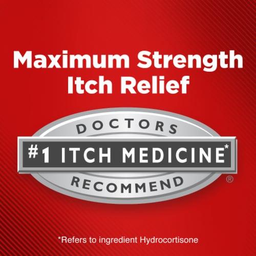 Cortizone 10® Maximum Strength Anti-Itch Ointment Perspective: left