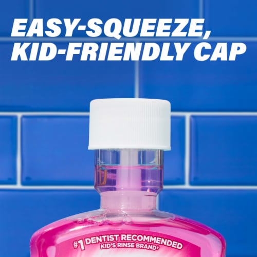 Act Kids Bubblegum Blowout Anticavity Fluoride Rinse Perspective: left