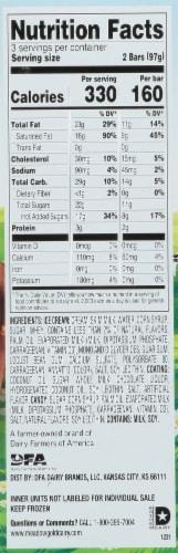 Meadow Gold Frozen Treats Toffee Bars Perspective: left