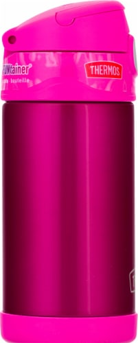 Thermos Stainless Steel Vacuum Insulated Straw Bottle - Pink Perspective: left