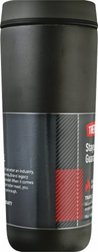 Thermos Stainless Steel Tumbler - Espresso Black Perspective: left
