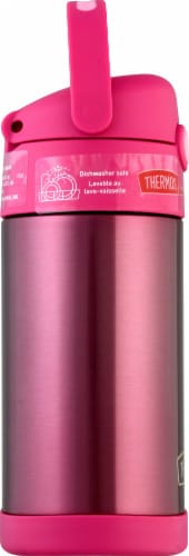 Thermos FUNtainer Stainless Steel Bottle - Pink Perspective: left