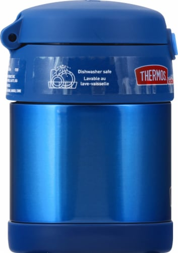 Thermos Stainless Steel Funtainer Food Jar - Navy Perspective: left