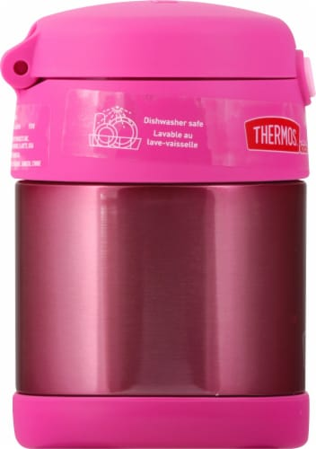 Thermos FUNtainer Stainless Steel Food Jar - Pink Perspective: left