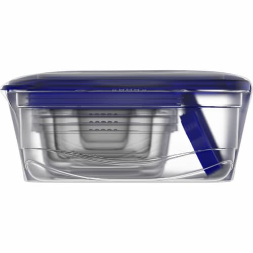 Kroger® Seal n' Lock Container Variety Pack Set - Clear/Blue Perspective: left