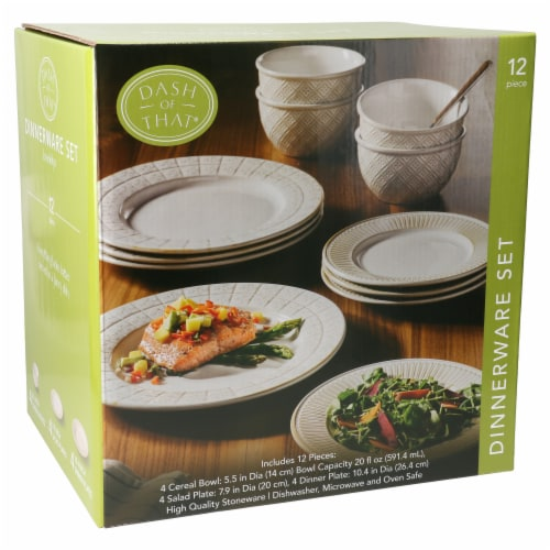Dash of That® Brooklyn Dinnerware Set Perspective: left