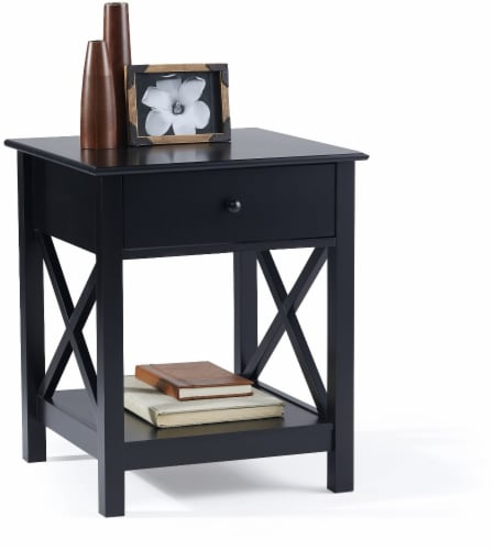 EL2 by Everyday Living X Frame Black End Table Perspective: left