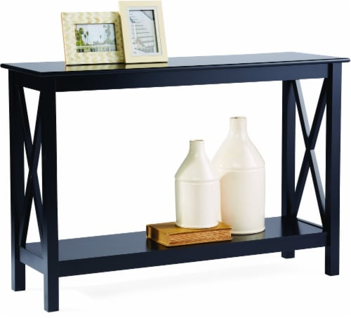Everyday Living X Frame Console Table - Black Perspective: left