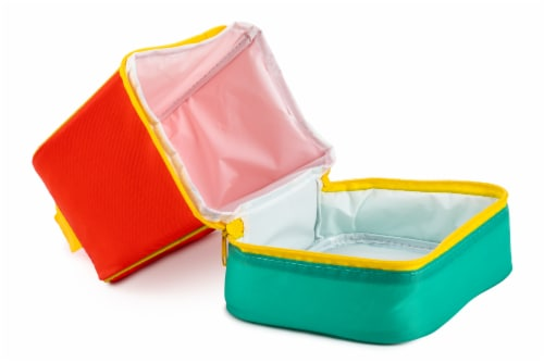 Everyday Living Colorblock Lunch Box - Orange Perspective: left